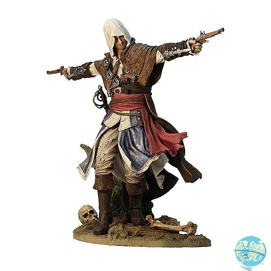 Assassin's Creed IV Black Flag - Edward Kenway Statue - Assassin Pirate: Ubisoft