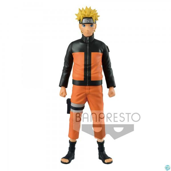 Naruto Shippuden - Naruto Soft Vinyl Figur / Big Size: Banpresto