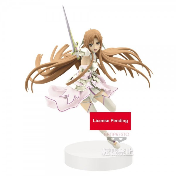 Sword Art Online Alicization - Asuna Figur / The Goddess of Creation Stacia - Espresto: Banpresto