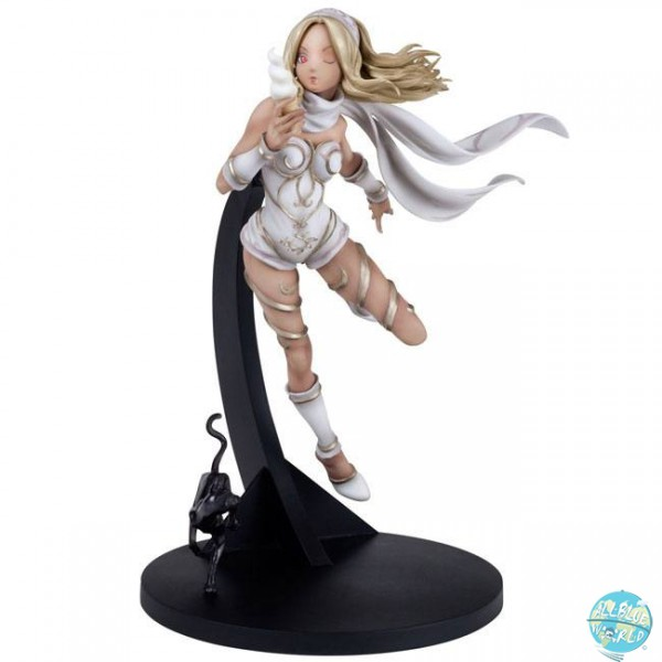 Gravity Rush - Kitten Statue - White Version: Union Creative
