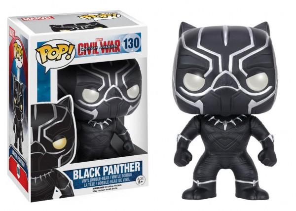 Captain America Civil War - Black Panther Figur - POP!: Funko