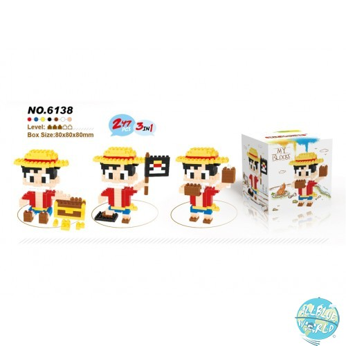 One Piece - Ruffy - My Blocks No.6138: LELE BROTHER