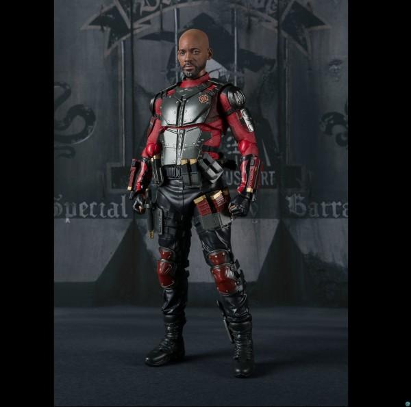 Suicide Squad - Deadshot Actionfigur - S.H. Figuarts / Web Exclusive: Bandai