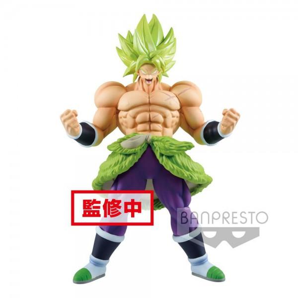Dragon Ball Super - SSJ Broly Figur / Cyokuku Buyuden: Banpresto