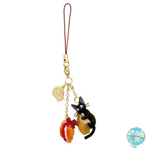 Studio Ghibli - Jiji & Strawberry Anhänger - Kikis kleiner Lieferservice: Benelic
