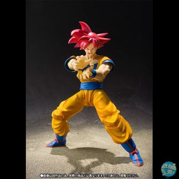 Dragonball Super - SSGSS Goku Actionfigur - S.H. Figuarts: Bandai