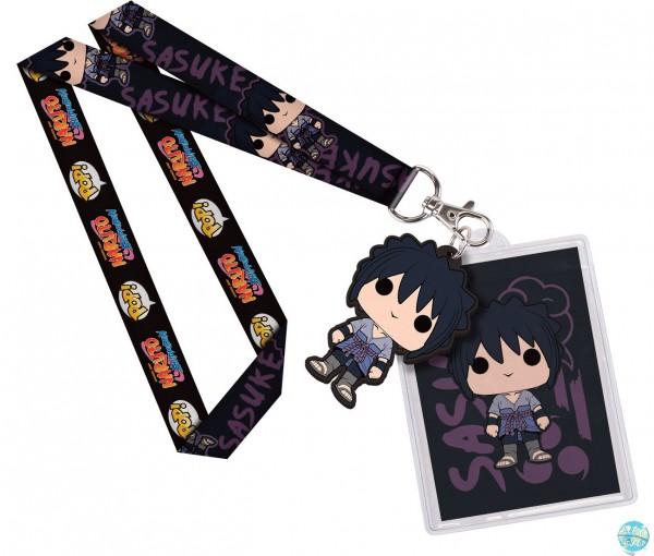 Naruto Shippuuden - Sasuke Schlüsselband mit Gummianhänger: Funko