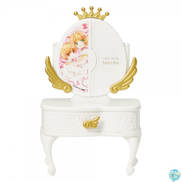 Card Captor Sakura - Mini Schminktisch - Piccolo Dresser / White: Union Creative
