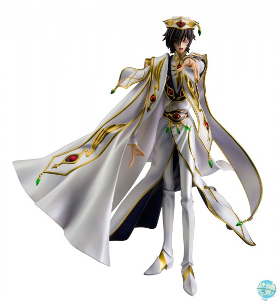 Code Geass: Lelouch of the Rebellion - Lelouch Statue - G.E.M. Serie: MegaHouse