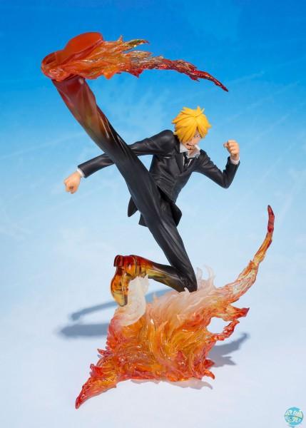 One Piece - Sanji Figur - FiguartsZERO / Diable Jambe Premier Hachis: Bandai