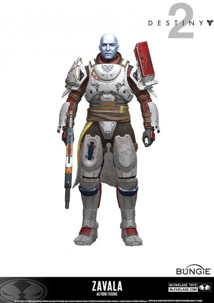 Destiny 2 - Zavala Actionfigur: McFarlane Toys