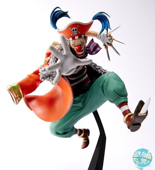 One Piece - Buggy Figur - Scultures / Big Zoukeio 4: Banpresto