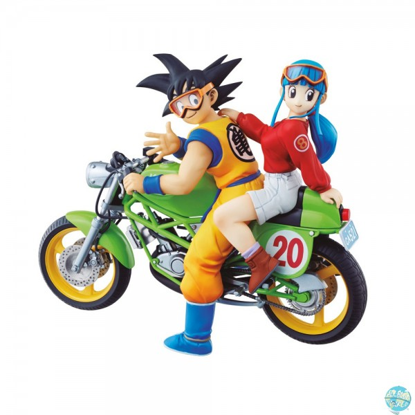 Dragonball Z - Son Goku & Chichi Diorama - Desktop Real McCoy Vol. 1: MegaHouse