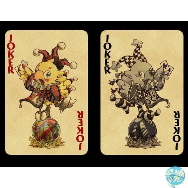 Final Fantasy - Kartenspiel Chocobo / 54Karten mit 2 Jokern: Square Enix
