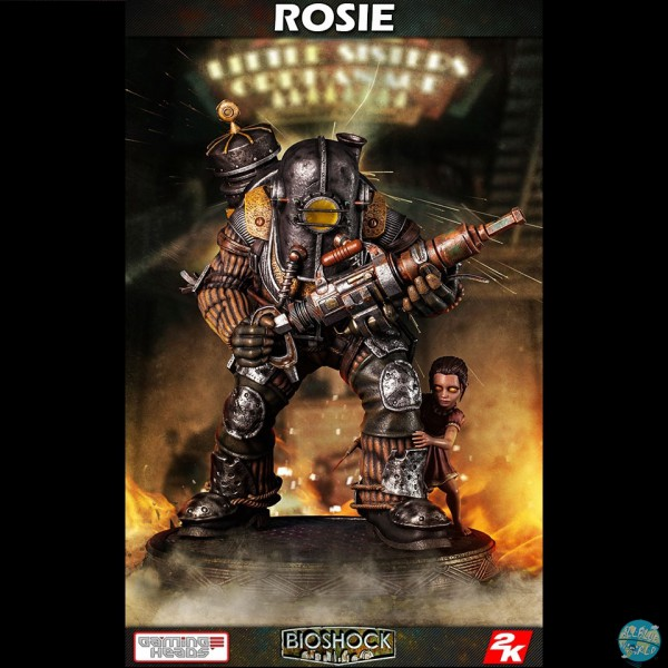 BioShock Infinite - Big Daddy - Rosie Statue: Gaming Heads