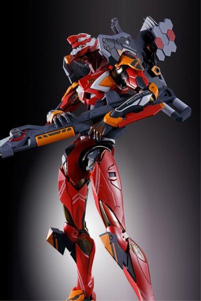 Neon Genesis Evangelion - EVA-02 Production Model Actionfigur / Metal Build Diecast: Tamashii Nation