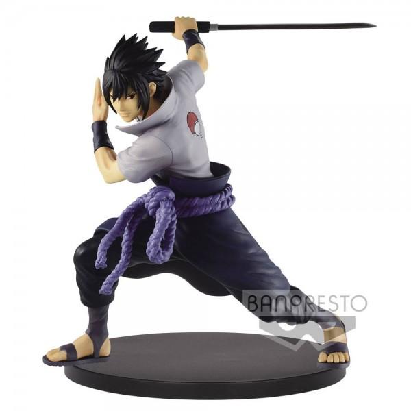 Naruto Shippuden - Sasuke Uchiha Figur / Vibration Stars Version II: Banpresto