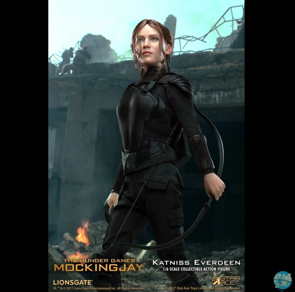 Die Tribute von Panem Mockingjay 1 - Katniss Everdeen Actionfigur: Star Ace Toys