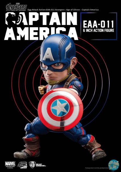 Avengers AOU Captain America Actionfigur - Egg Attack: Beast Kingdom Toys