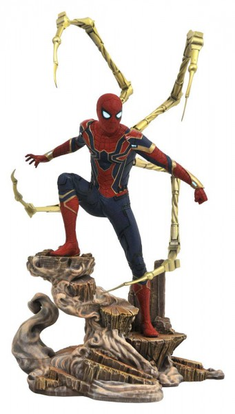 Avengers Infinity War - Iron Spider-Man Figur / Marvel Gallery: Diamond Select