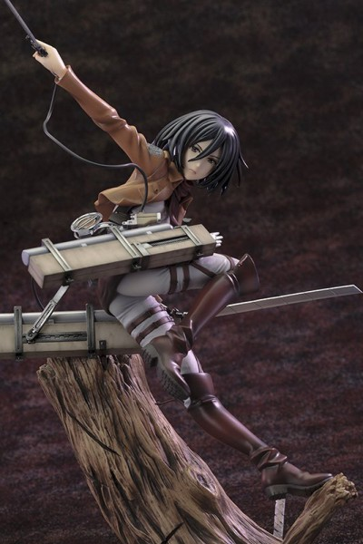 Attack on Titan - Mikasa Ackerman Statue / ARTFXJ / Renewal Package Version: Kotobukiya