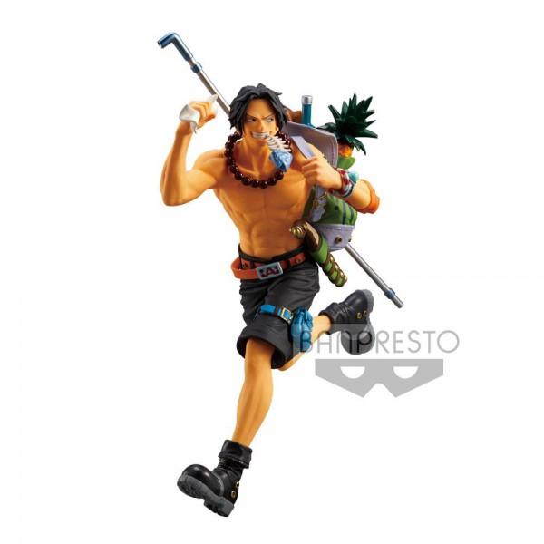 One Piece - Portgas D. Ace Figur: Banpresto