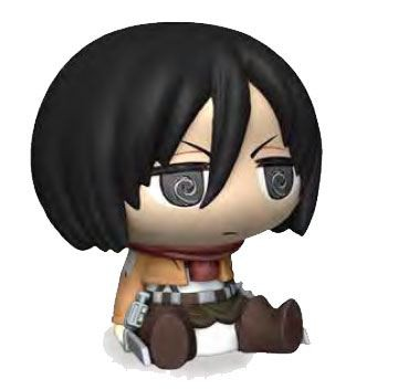 Attack on Titan - Mikasa Spardose / Chibi Version: Plastoy