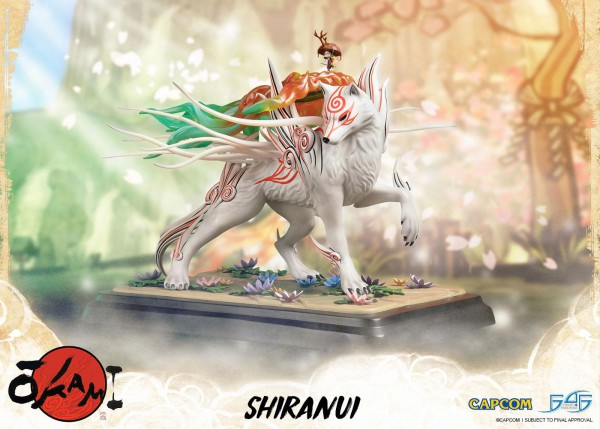 Okami - Shiranui Statue: First 4 Figures