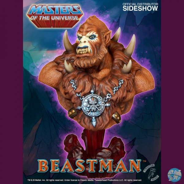 Masters of the Universe - Beastman Büste: Tweeterhead
