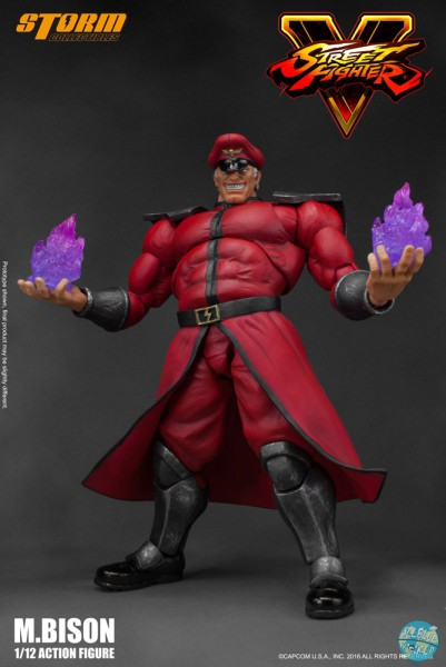 Street Fighter V - M. Bison Actionfigur: Storm Collectibles