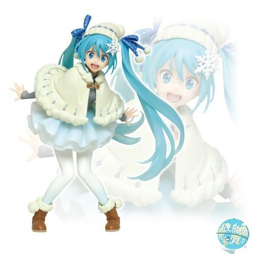 Vocaloid - Hatsune Miku Figur - Witer Outfit Version: Taito