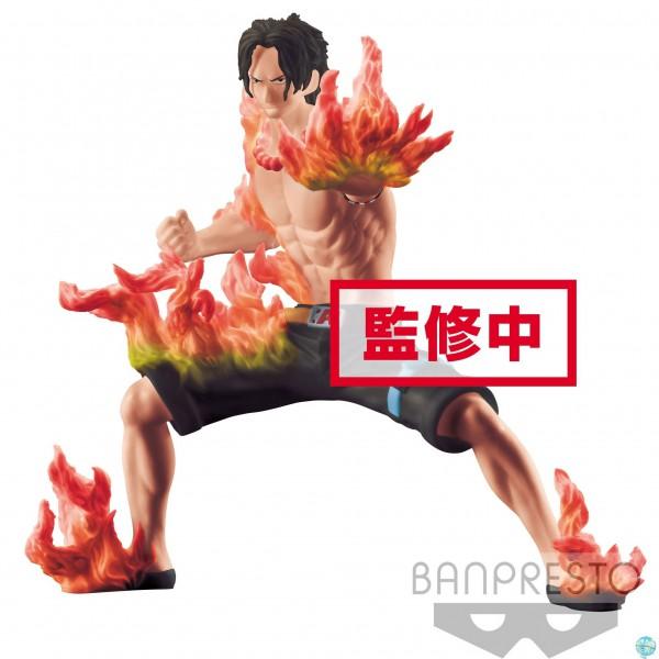 One Piece - Portgas D. Ace Figur - Abiliators: Banpresto