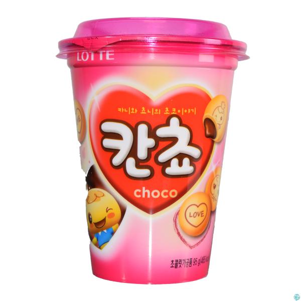 Kancho Cup - Koreanische Schokokekse 95g