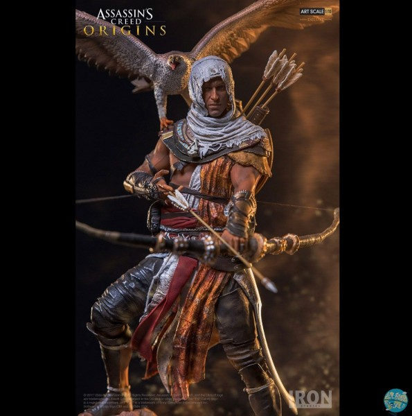 Assassin's Creed Origins - Bayek Satue: Iron Studios