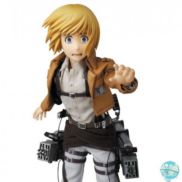 Attack on Titan - Armin Harlert Actionfigur - RAH: Medicom