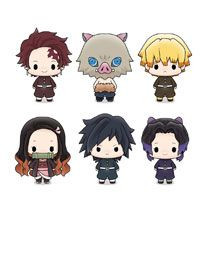 Demon Slayer - Chokorin Mascot Series Sammelfiguren / 6er Sortiment: MegaHouse