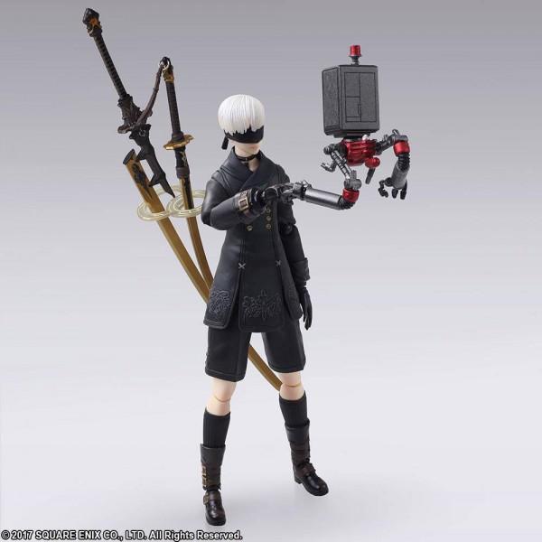 NieR RepliCant/Gestalt - 9S (YoRHa No. 9 Type S) Actionfigur / Bring Arts: Square Enix