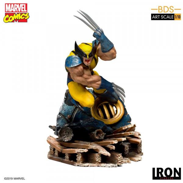 Marvel Comics - Wolverine Statue / BDS Art Scale: Iron Studios