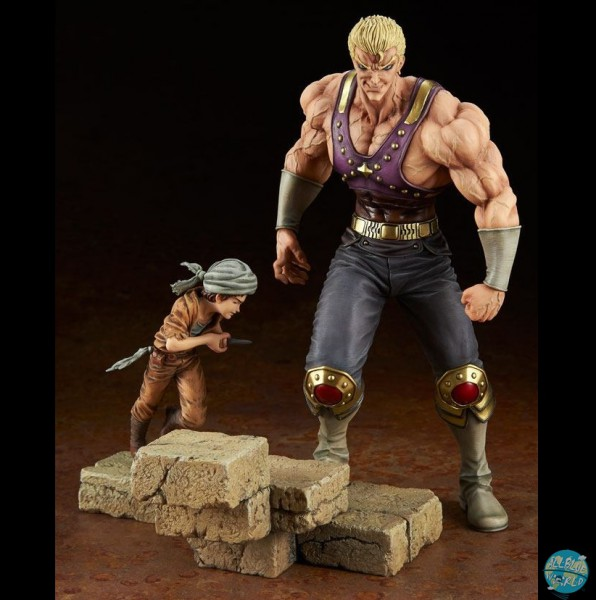 Fist of the North Star - Holy Emperor Souther-sama & Turban Kid Statue: Embrace Japan