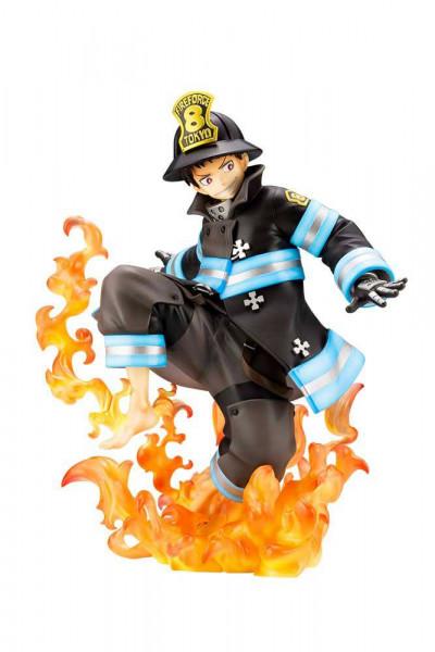 Fire Force - Shinra Kusakabe Statue / ARTFXJ: Kotobukiya
