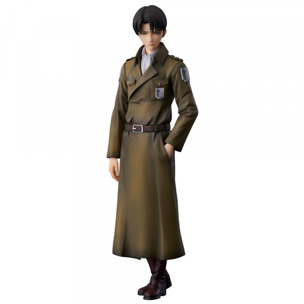 Attack on Titan - Levi Statue / Coat Style Version: Union Creative