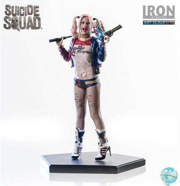 Suicide Squad - Harley Quinn Statue: Iron Studios