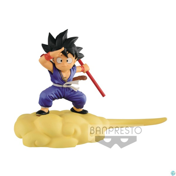 Dragonball - Goku auf Jindujun Figur - Special Color Version: Banpresto