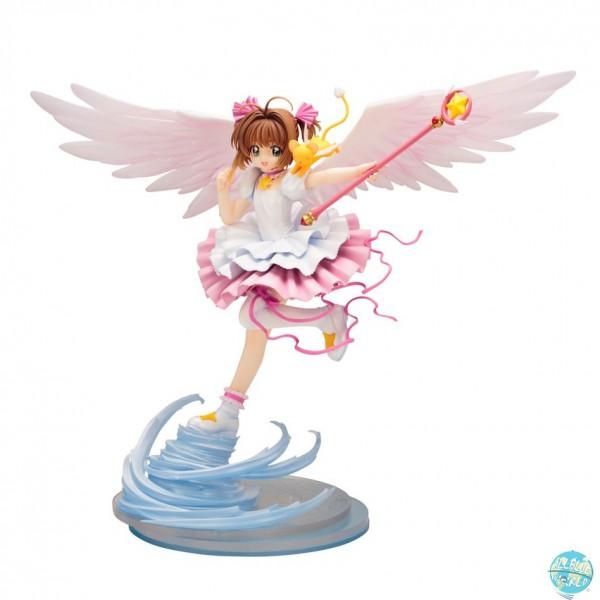 Cardcaptor Sakura - Sakura Kinomoto Statue - ARTFXJ / Sakura Card Version: Kotobukiya