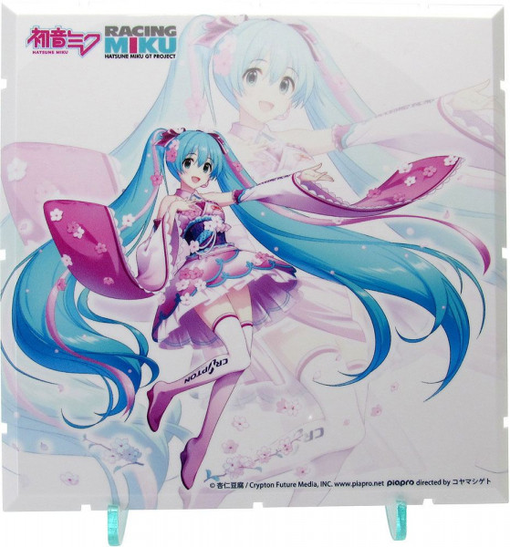 Dioramension - Racing Miku 2019 Pit Optional Panel Haregi Version / Zubehör-Set: PLM