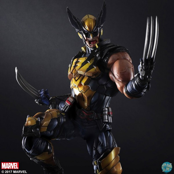 Marvel Comics - Wolverine Actionfigur - Variant Play Arts Kai: Square Enix
