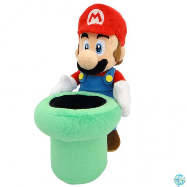 Nintendo Mario mit Röhre Plüschfigur 25cm: Together+