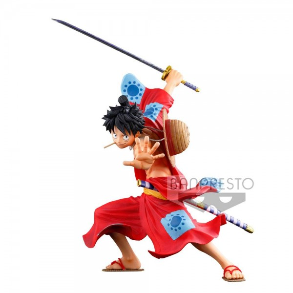 One Piece - Monkey D. Ruffy Figur - WFC 3 Super Master Stars Piece: Banpresto