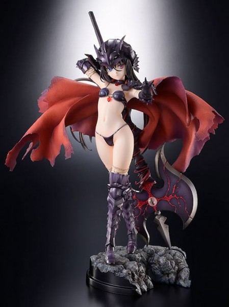 Bikini Warriors - Black Knight Statue: Hobby Japan