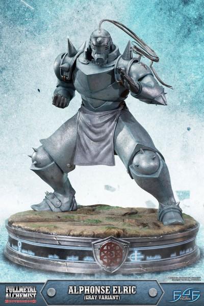 Fullmetal Alchemist Brotherhood - Alphonse Elric Statue / Gray Version: First 4 Figures